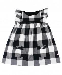 add56104d200 Black And White Plaid Dress