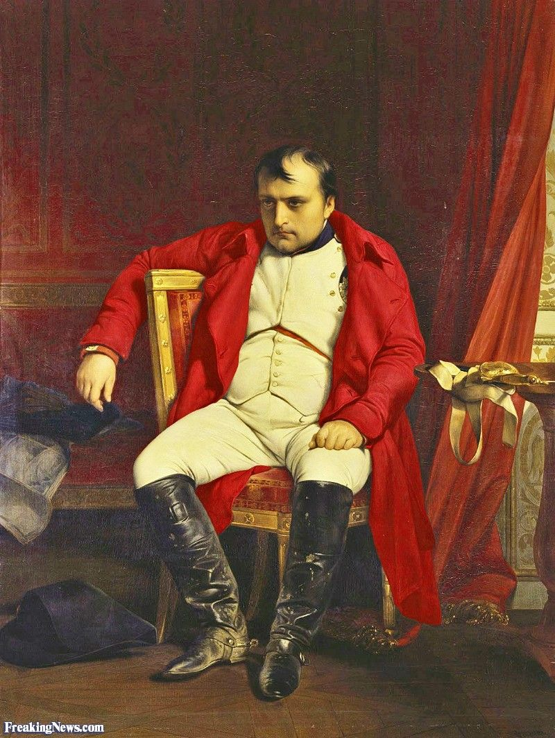 Pin By Waleed Althawadi On Freaking News Caricature Napoleon Painting Paul Delaroche Napoleon