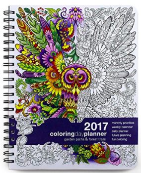 Coloring Book Daily Planner Ultimate Planner Notebook Sketch Book Grid Pages And Coloring Book Organize Or Pattern Coloring Pages Planner Coloring Pages