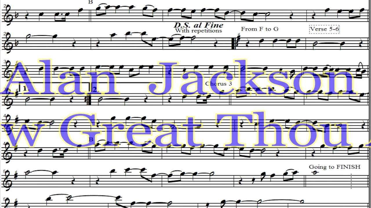 Allan Jackson How Great Thou Art Quao Grande Es Tu Musical