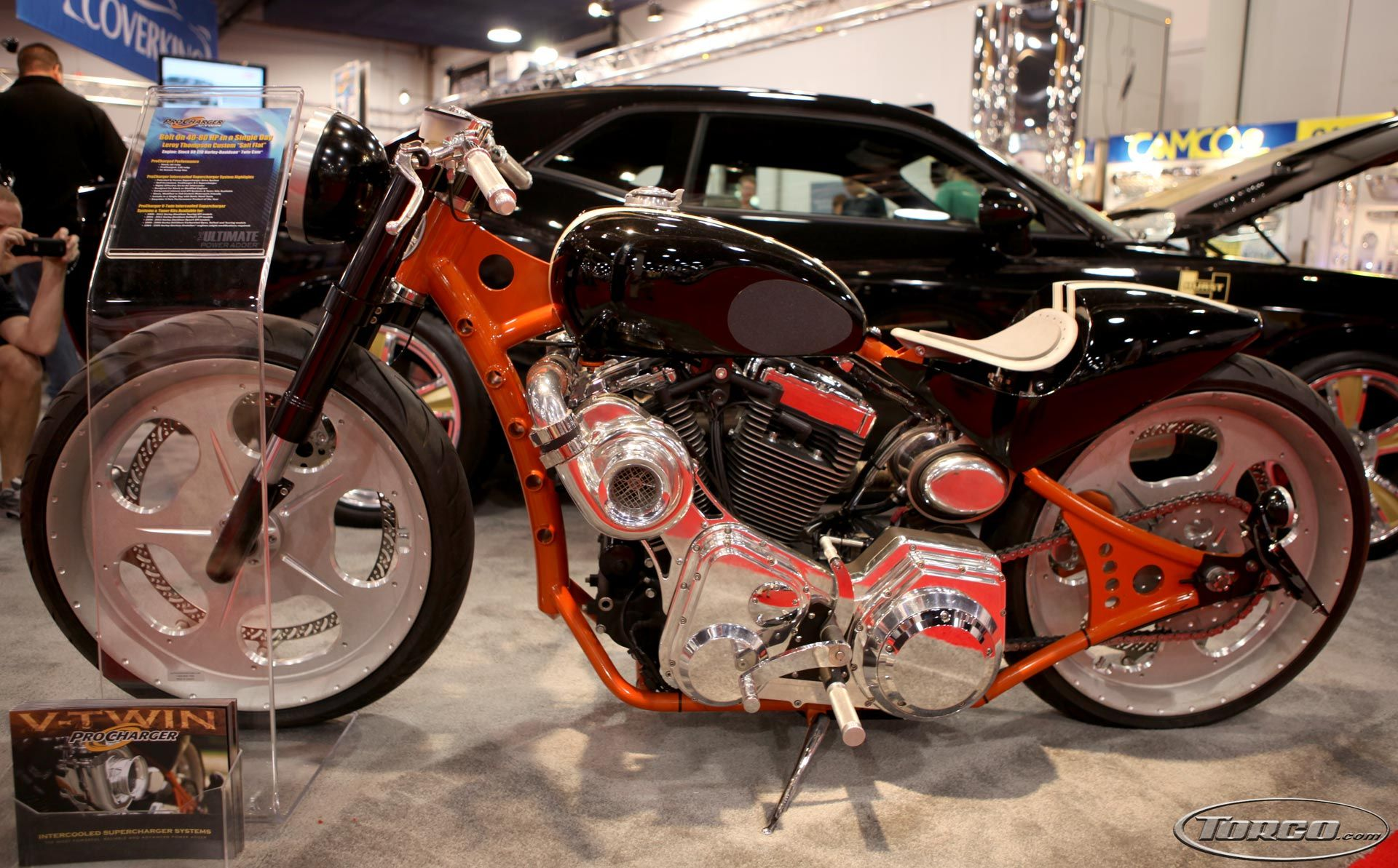 Supercharged Motorcycle