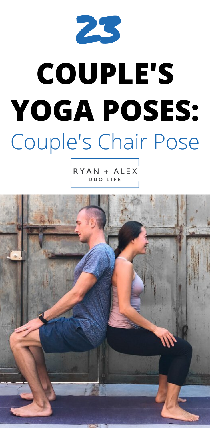 Couple's Yoga Poses: 23 Easy, Medium, Hard Yoga Poses For Two People