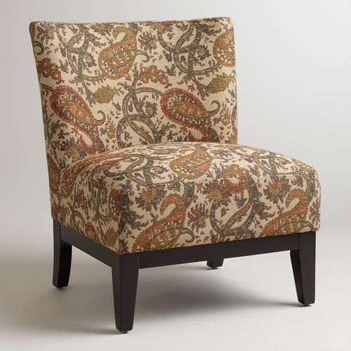 Paisley Darby Chair Living Room ChairsPaisley PrintWorld MarketAccent
