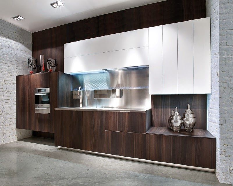 Elegant Minimalist Kitchen Design And Style, Modern Brown Kitchens 2017 Part 20