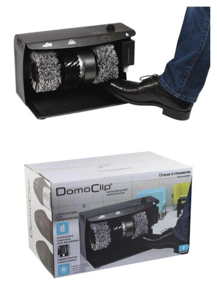 Domoclip Dom349 Cirage De Chaussures Nettoyant Nettoyeur 58026477