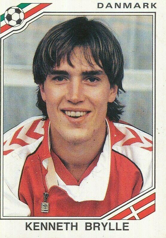 # 219 John sivebaek-Danmark Panini-Euro 92