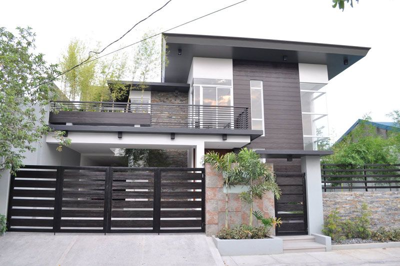 796bfdccb38f09fdf7e3cd78a83e8564 - View Modern Style Small House Residential Modern Gate Design Images