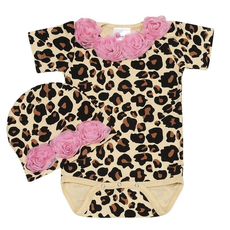 Pink Baby Boutique - Baby Love Cheetah Rose Baby Romper Set, $48.00 (http://www.pinkbabyboutique.com/baby-love-cheetah-rose-baby-romper-set/)