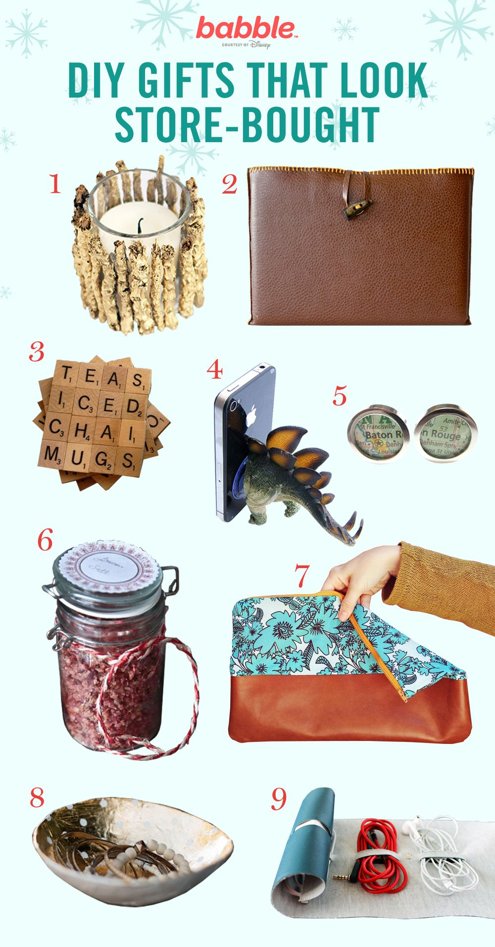 Easy Diy Gifts Diy Gifts And Easy Diy On Pinterest: 9 DIY Gifts That Look Store-Bought