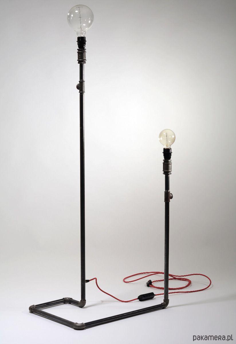 Stalowa Lampa Podlogowa Stojaca Loft Lampy Lampa Podlogowa Loft
