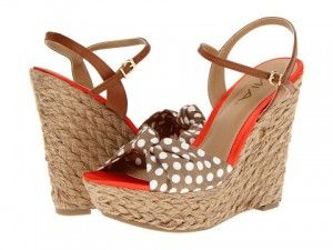 These wedge sandals from MIA are very pretty and come with such a cute name.