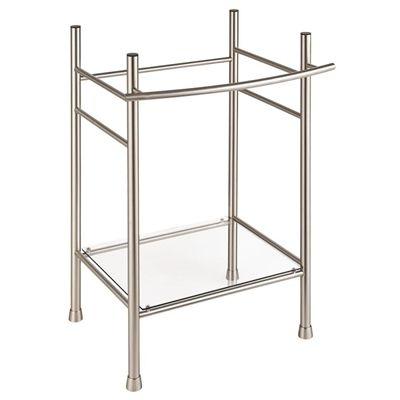 Genial American Standard Bathroom Sink 8719070R.295 Edgemere 34.0625 In H Brushed  Nickel Stainless Steel