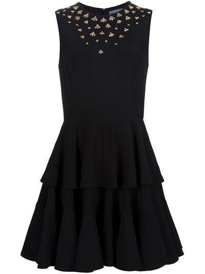ALEXANDER MCQUEEN Bee Embellished Dress