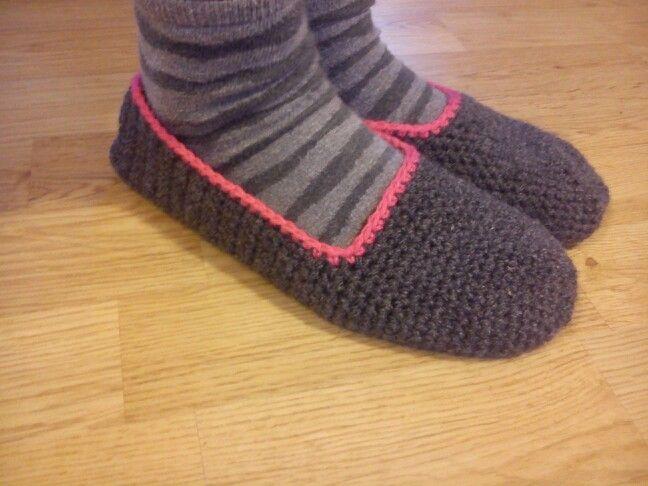 Zapatillas de ganchillo