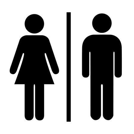 Male Female Hybrid Symbol Silhouette Google Search Disk Image Female Symbol Symbols