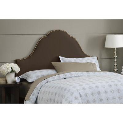 Skyline Furniture Plain High Arch Headboard In Chocolate Headboard Arched Headboard Upholstered Panels