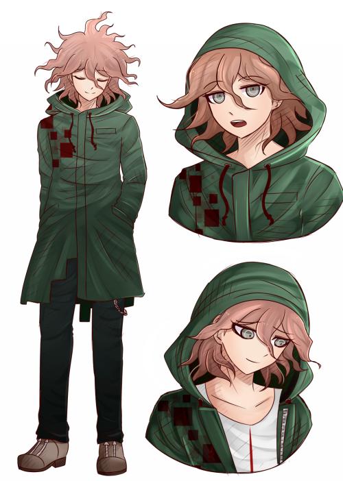 Nagito Komaeda What Is Hair Is Supposed To Look Like If He Wasn T Sick Danganronpa Danganronpa Characters Nagito Komaeda Danganronpa