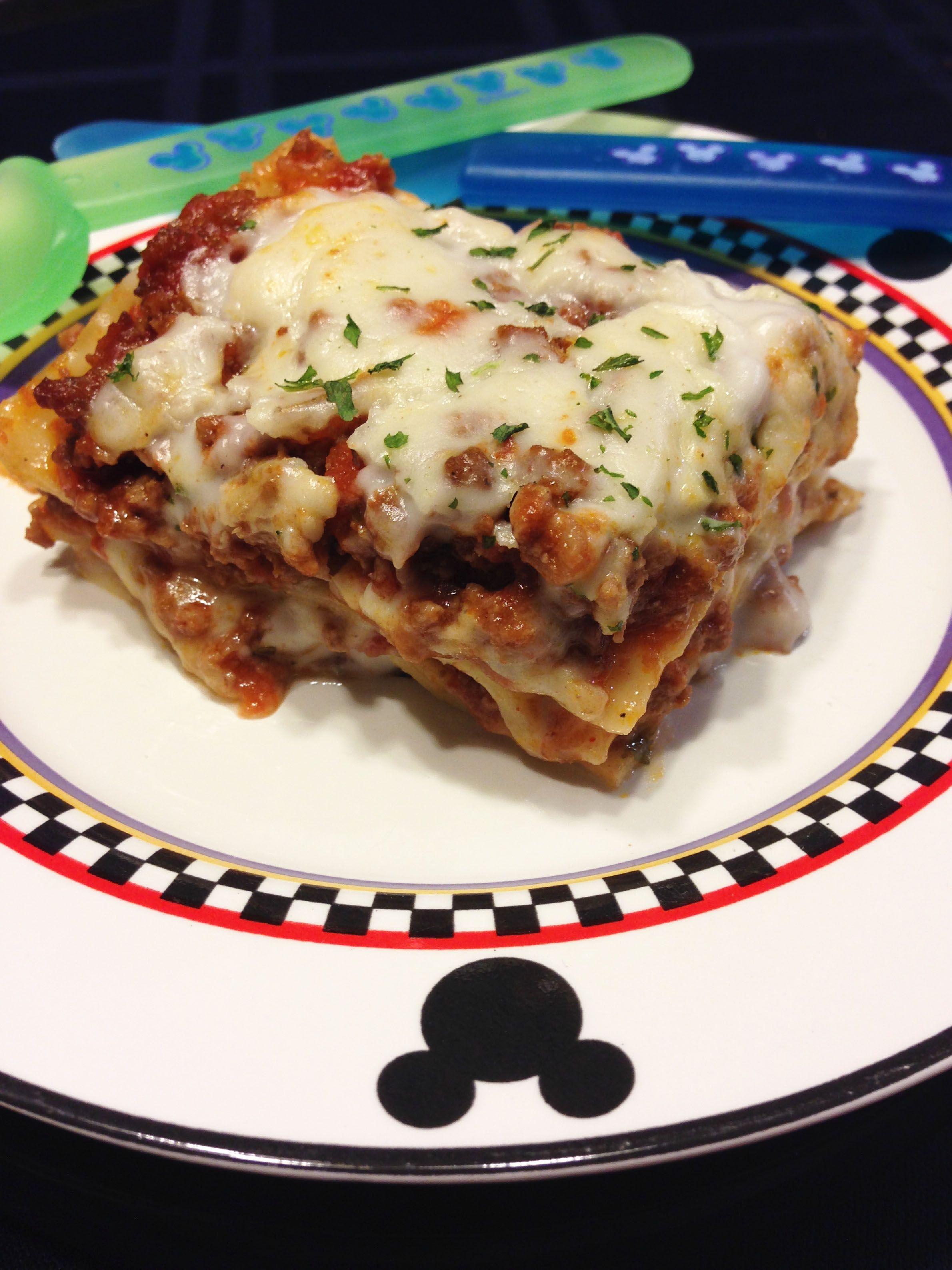 Diary Free lasagna