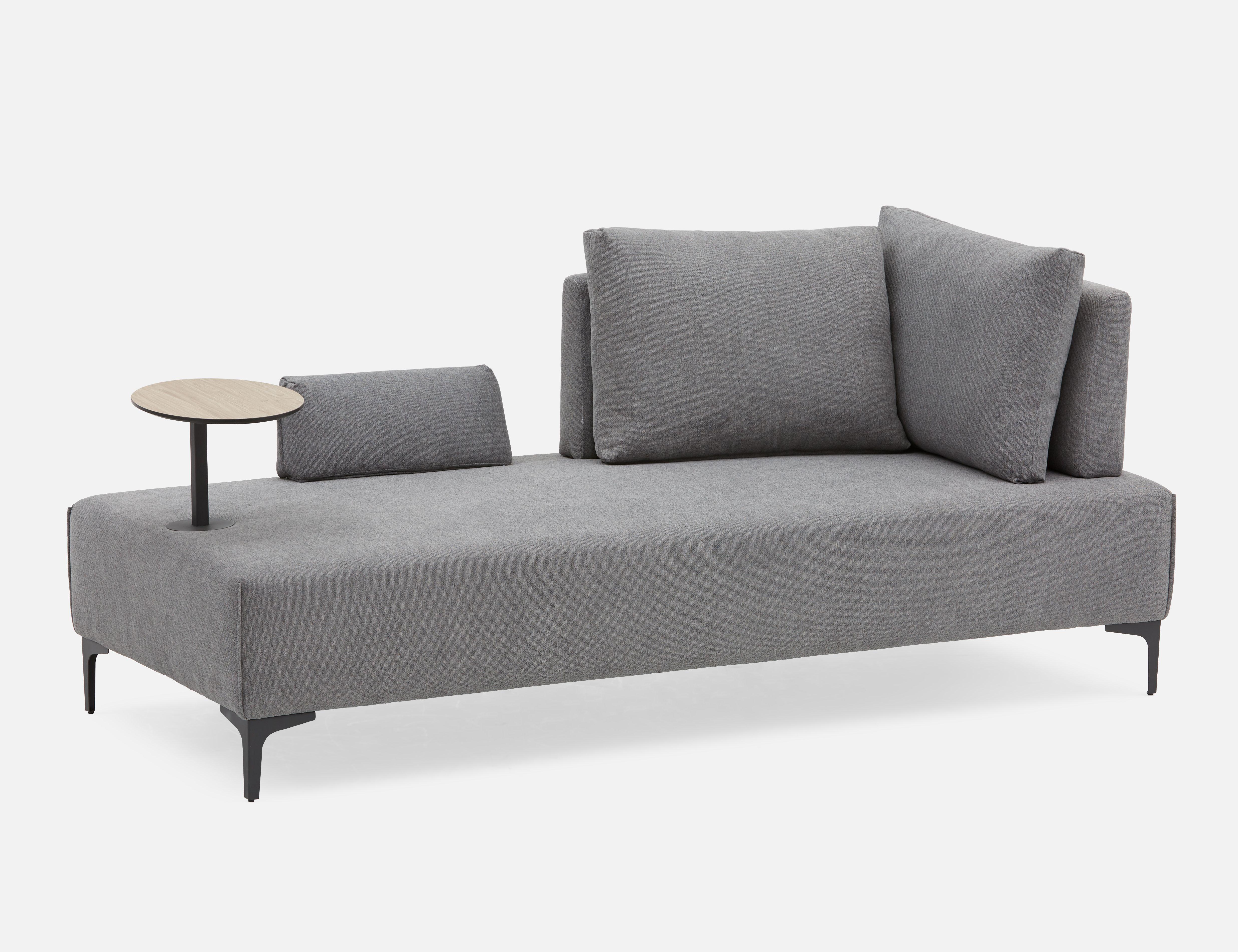 Grey Multifunctional Sofa Structube Flexi Sofa Love Seat Multifunctional