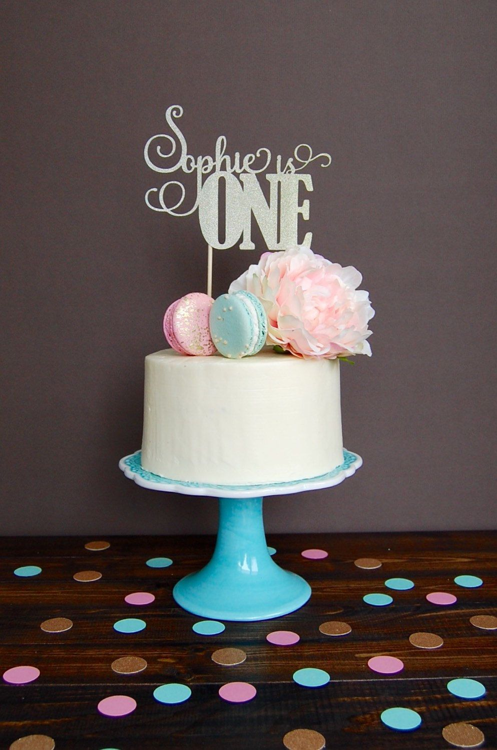 Cake topper custom cake topper 1st birthday by