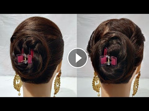 2 Quick And Easy Juda Hairstyles Using Clutcher Hair Style Girl