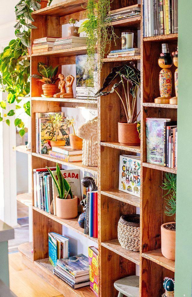 Bohemian Bookshelf Bohemianhomedecor