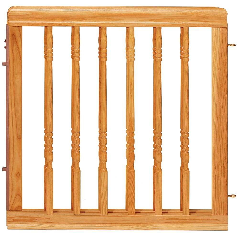 Baby gate Home Decor Stair Baby Gate Colors Light Oak