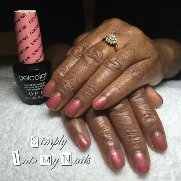 OPI Gelcolor Cozu Melted In The Sun | 2. Manicures By Simply Into My ...