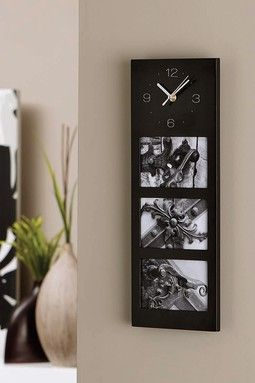 Davi Clock - Black