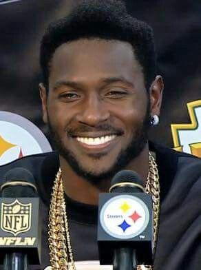 Antonio Brown  84 - Love that smile  ba31336f854