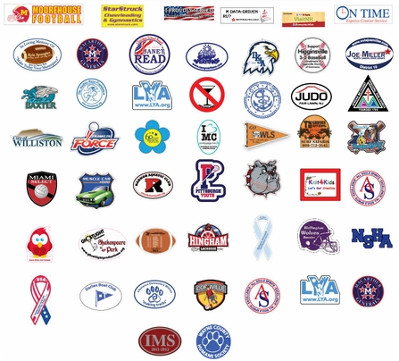 Support Different Causes With Custom Car Magnets  Pins For - Custom euro car magnets