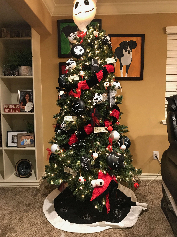 Nightmare Before Christmas Tree. Jack Skellington Tree. | Nightmare ...
