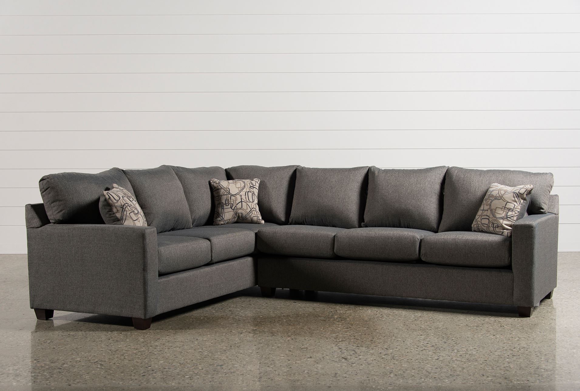 Raines 2 Piece Right Facing Sectional Signature