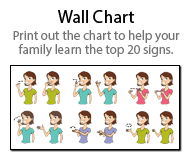 graphic about Baby Sign Language Printable known as Pin upon Boy or girl things