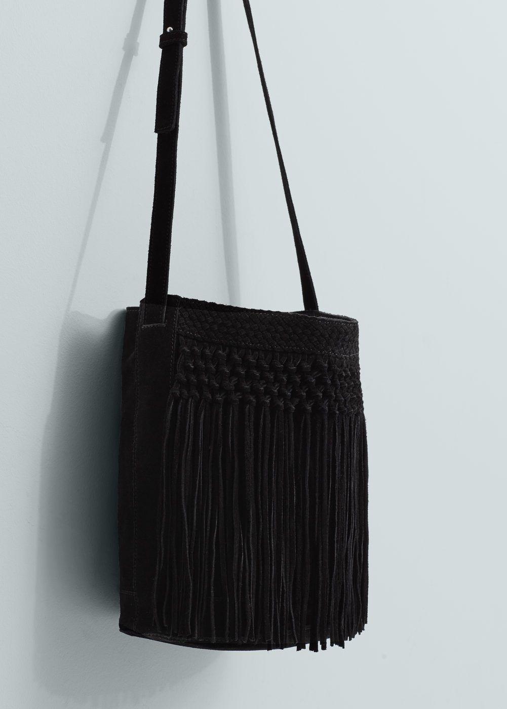 980b16dc854 Leren tas met franjes - Dames in 2019   Coats&Clothes, Hand-bags ...