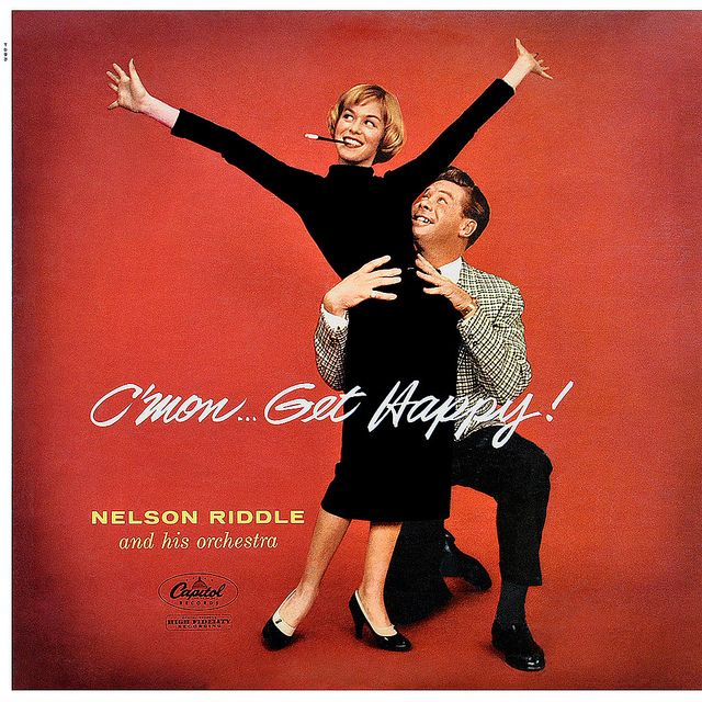 Nelson Riddle - C'mon... Get Happy! by LP Cover Art, via Flickr