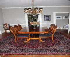 Beautiful Dining Room Designed With Semi Antique Persian Rug From Persian  Home Decor. Visit Www