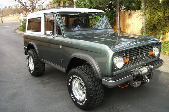 1968 Ford Bronco In Highland Green Ford Bronco Classic Ford