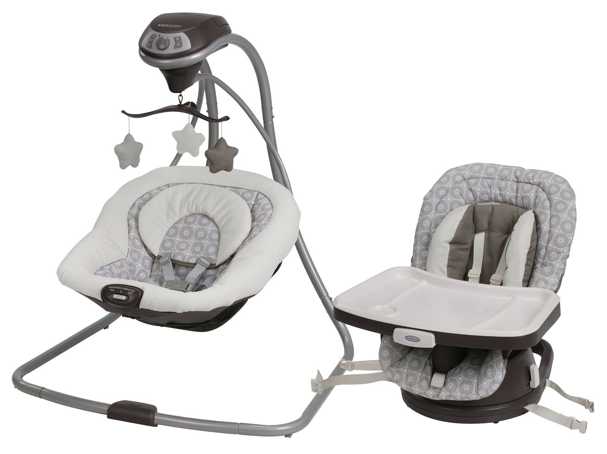 Graco Simple Sway Baby Swing with Swivi Seat 3-in-1 Booster. This ...