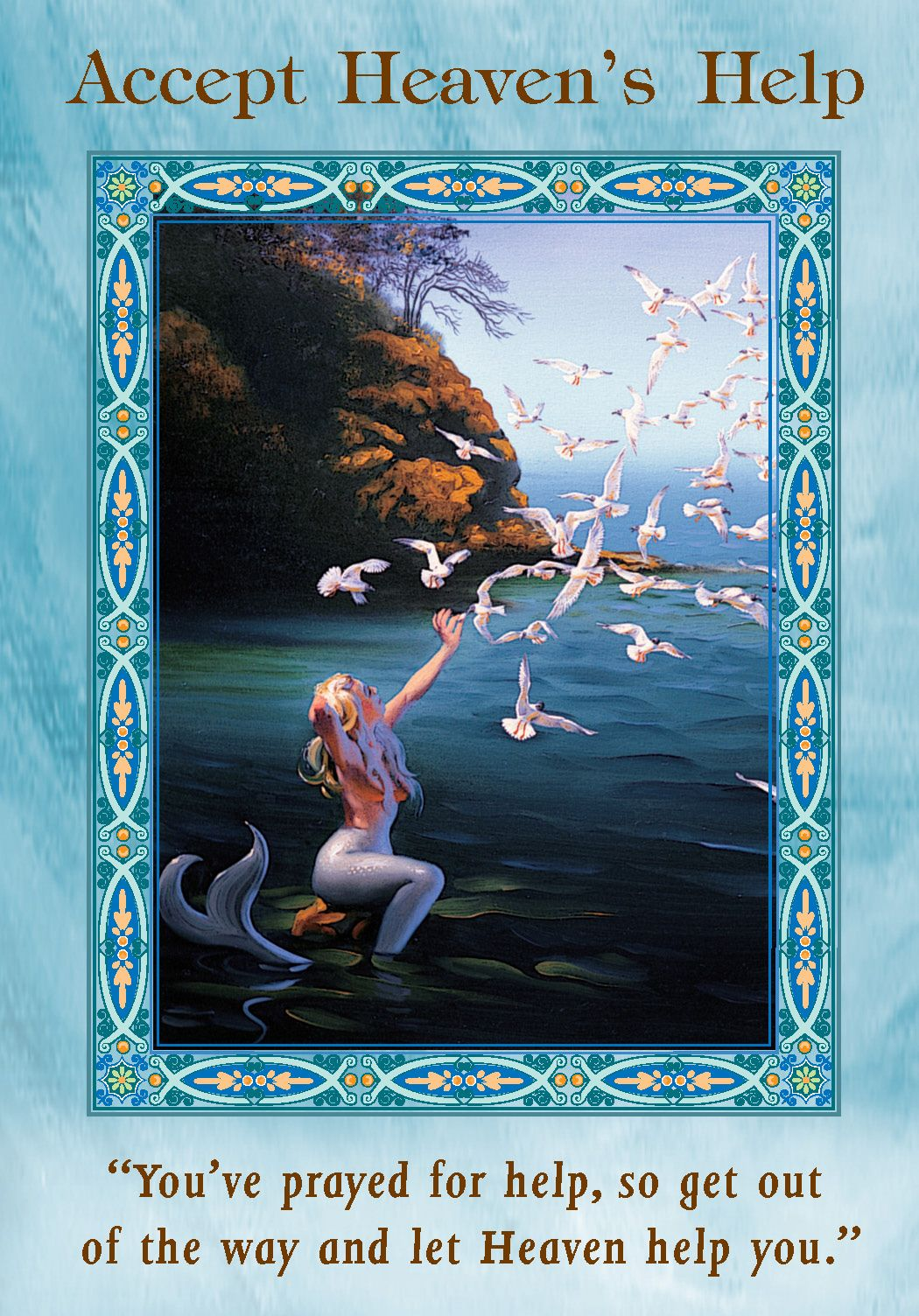 Oracle card accept heavens help doreen virtue