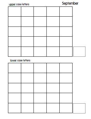 free alphabet assessment sheets for writing letter formation back to school kindergarten. Black Bedroom Furniture Sets. Home Design Ideas