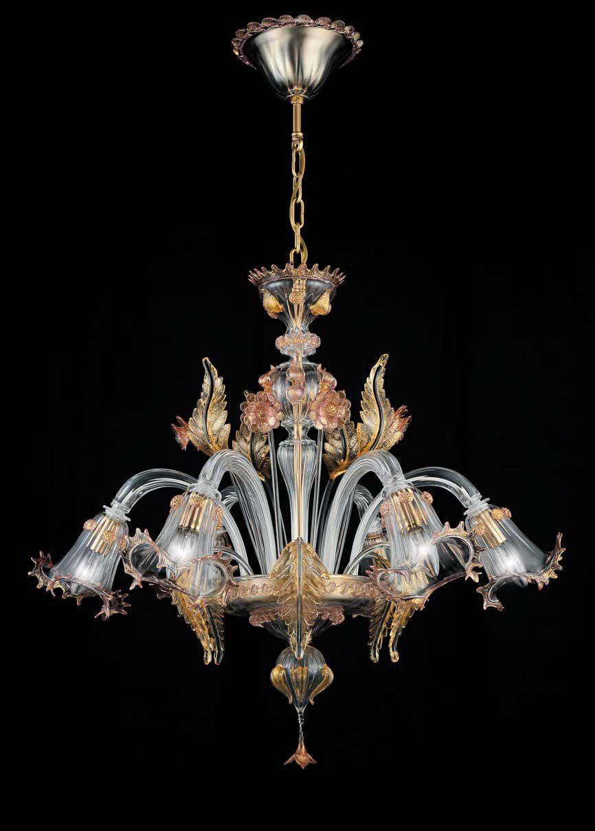 Luci La Murrina Murano Murano glass chandelier