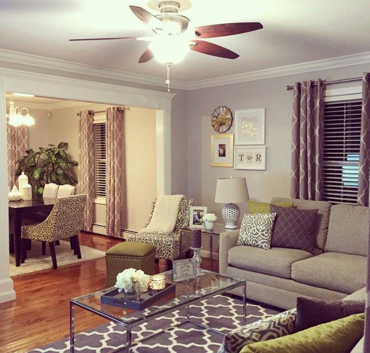 Best Paint Behr Gentle Rain Family Room Colors Farm House 400 x 300