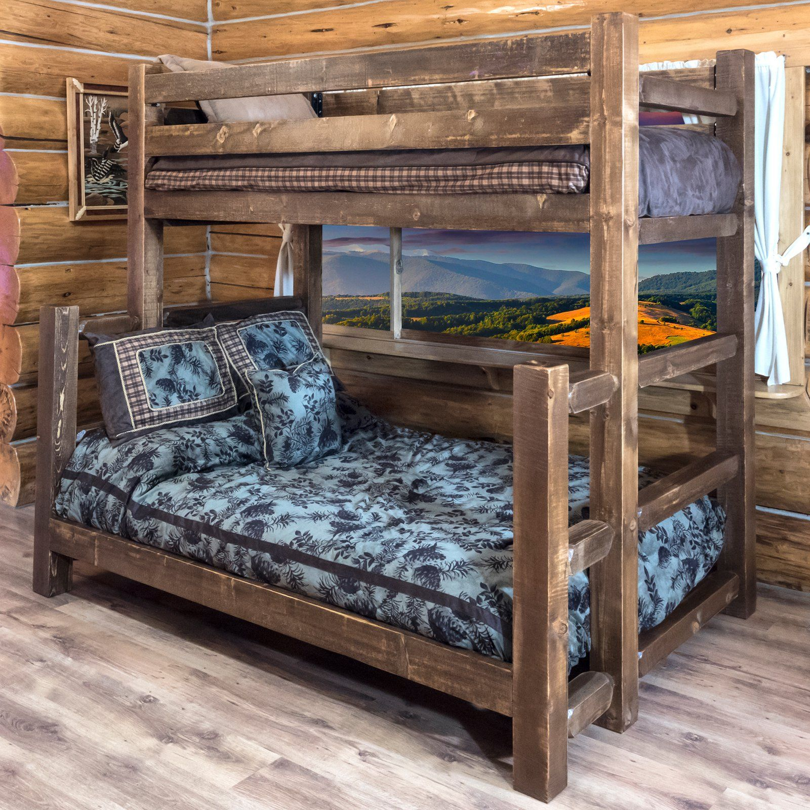 Best Montana Woodworks Homestead Twin Over Full Bunk Bed In 400 x 300