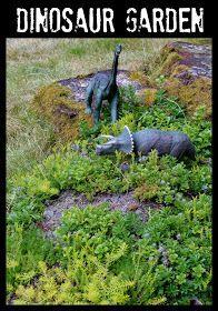 Not a Fairy Garden  a Dinosaur Garden fairy garden ideas Not a Fairy Garden  a Dinosaur Garden