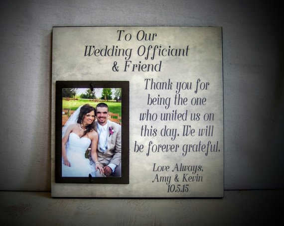 Wedding Officiant Gift Perfect For The Friend Wedding Officiant