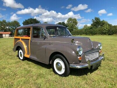 For Sale: Morris Minor Traveller 1098cc 1964 Woody Classic Car<--More #classiccar #classiccars