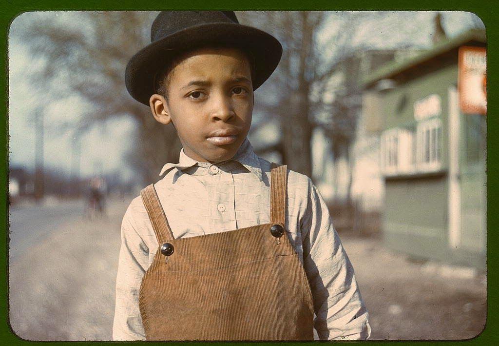 Negro boy near Cincinnati, Ohio. 1943