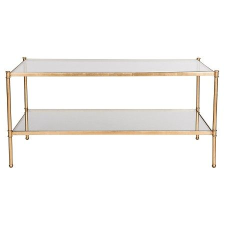 Coffee Table Gold - Safavieh : Target