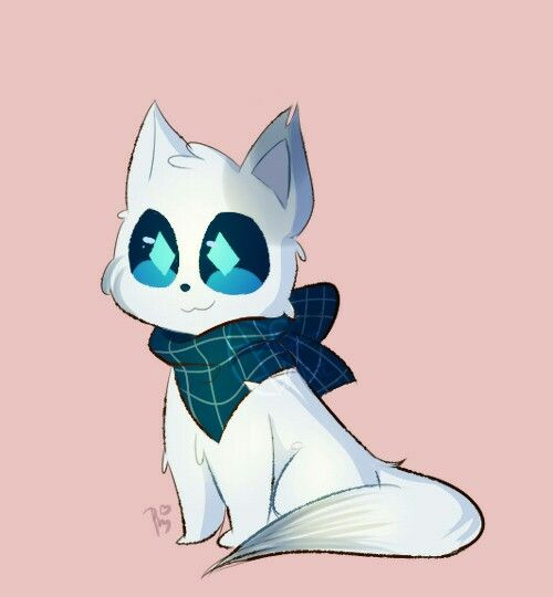 Blueprint as a Cat if not a wolf Undertale Pinterest Anime and - best of blueprint education india